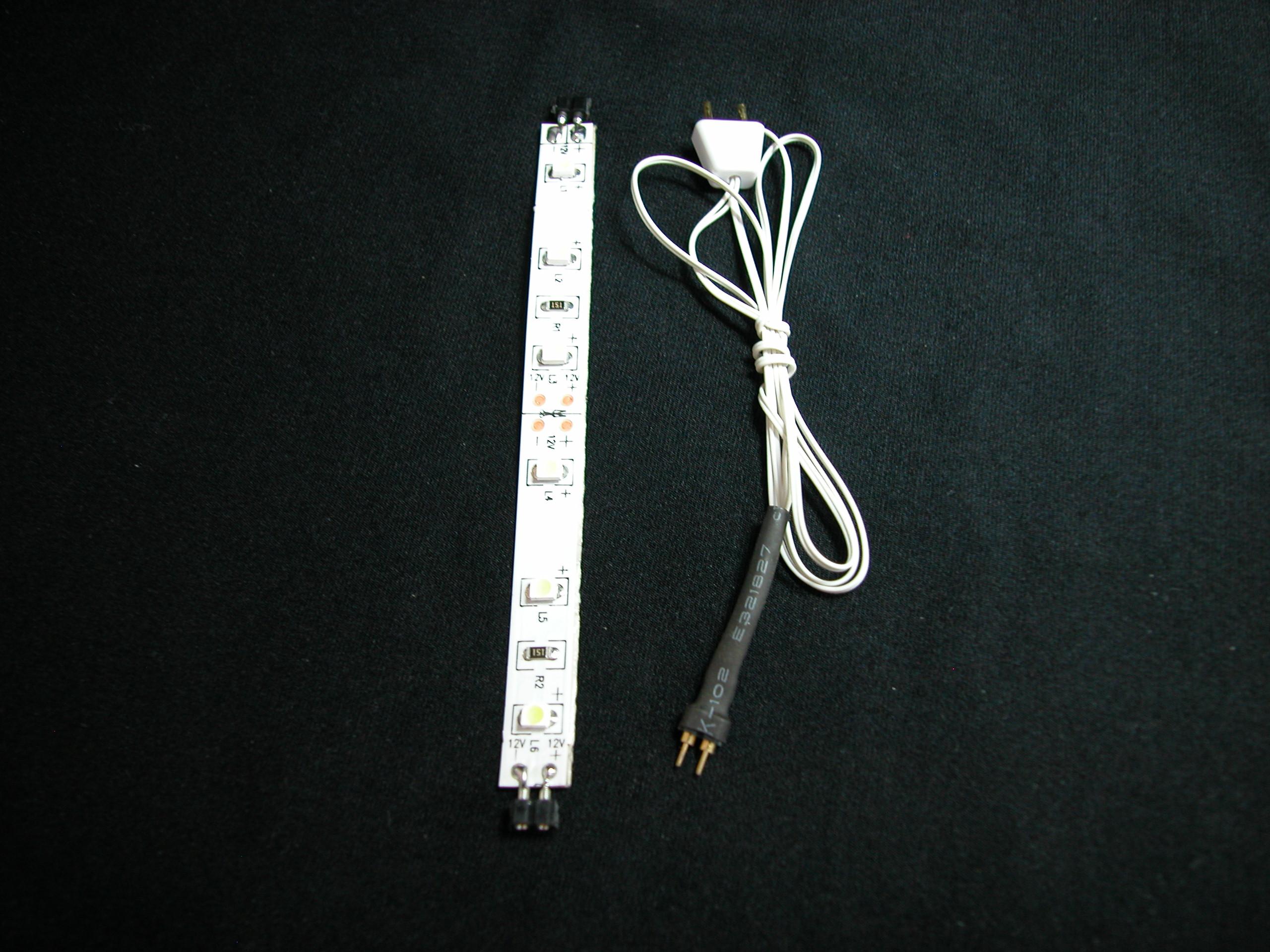 Ott dollhouse miniature 112 scale led 6 warm white light strip w heidi ott dollhouse miniature 112 scale led 6 warm white light strip wplug yl9064 aloadofball Images