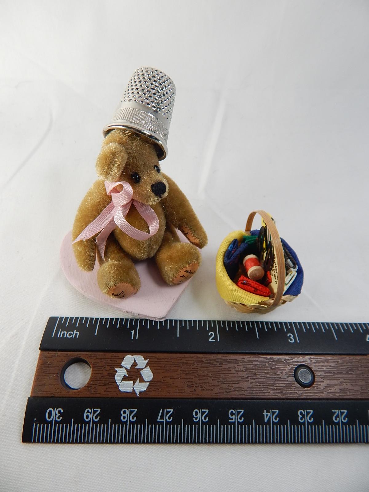 "World of Miniature Bears 2.75/""x2/"" Plush Panda Lala #735 CLOSING"
