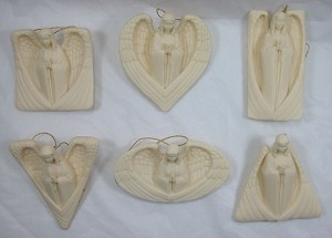 Echoes Xmas Blowout Collectible Christian Hanging Ornament Set #210207-12