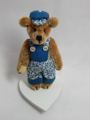 "World of Miniature Bears 2.5"" Plush Bear Clayton #5006 Collectible Miniature ..."