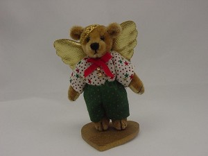 "World of Miniature Bears 2.75"" Plush Bear Gabriel #5027 Collectible Miniature"