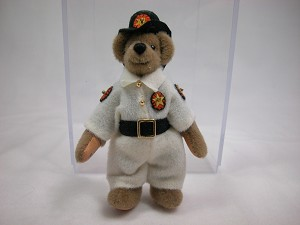 "World of Miniature Bears 3.5"" Plush Bear Buford #849 Collectible Miniature"