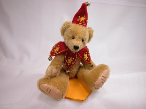 Collectible Miniature Bear Waldo #869