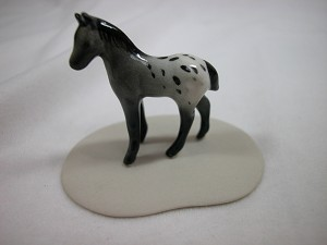 Miniature Porcelain Animals Appaloosa Colt #903