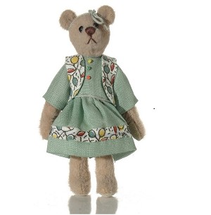"World of Miniature Bears 3"" Cashmere Bear Sabrina #5049 Collectible Miniature"