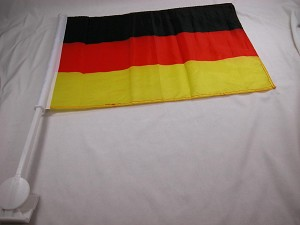 Germany Car Window World Cup Championship Flag Futbol Soccer Deutschland