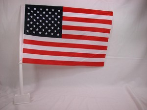 "USA Car Window Flag World Cup Championship 12"" x 17"" #C"