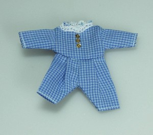 Heidi Ott Dollhouse Miniature 1:12 Scale Toddler Boy Outfit #XZ882