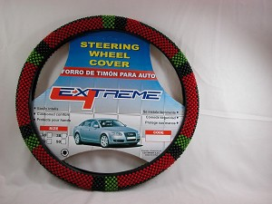 Beaded Steering Wheel Cover for Car or Pick Up Truck - steC