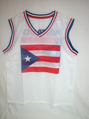 Porto Rico Flag Ventilate Muscle Shirt With PR Flag