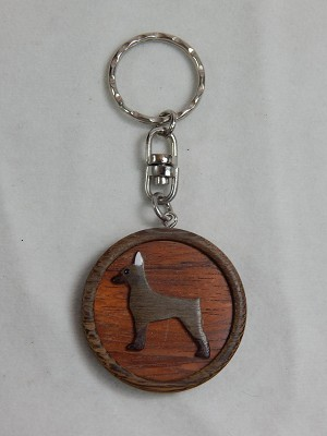 Dog Key Chain for Dog Lovers Pincher #Z012