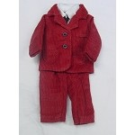 Heidi Ott Dollhouse Miniature 1:12 Scale Adult Male Man's Outfit Clothing Red #X78RD