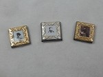 Dollhouse Miniature Accessories 1:12 Scale Picture Frames 3 pcs set #Z285
