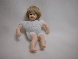 Heidi Ott Dollhouse Miniature 1:12 Scale Boy Toddler Doll Body #XKB11