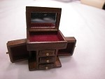 Heidi Ott Dollhouse Miniature 1:12 Scale Jewelry Cabinet #XY604W