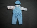 Heidi Ott Dollhouse Miniature 1:12 Scale Child's Clothes  Outfit #XZ951
